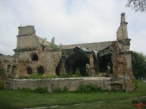 Руїни синагоги. Вигляд з заходу