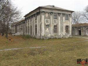 Замковий палац сер. XVIII ст.