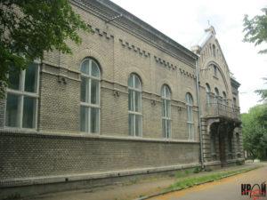 Районний народний дім «Просвіта». Вигляд зі сходу