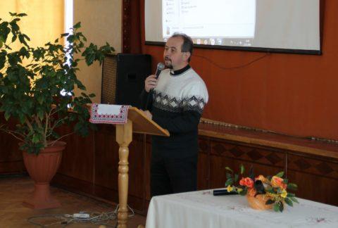Голова громадської організації «Край» о. Богдан Вихор