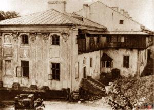 Замковий палац на поч. ХХ ст. Вигляд з північного сходу