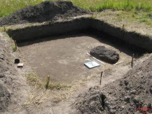 Археологічні дослідження в урочищі Заставки