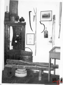 Етнографічна експозиція першого історико-краєзнавчого музею