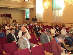 Учасники Х науково-краєзнавчої конференції «Брідщина – край на межі Галичини й Волині»