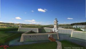 3D реконструкція Бродівського замку автор В.Чоп