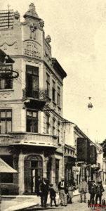 Готель «Брістоль» - зображення на поштівці (бл. 1910 р.)