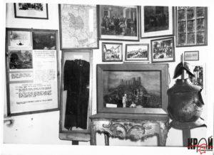 Фрагмент експозиції першого історико-краєзнавчого музею, що знаходився у м. Броди на Великих Фільварках